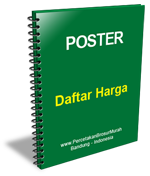 Harga Cetak Poster